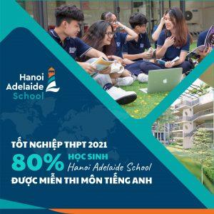 miễn thi tốt nghiệp THPT môn tiếng Anh