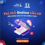 Thử online vào 10 tại Hanoi Adelaide School