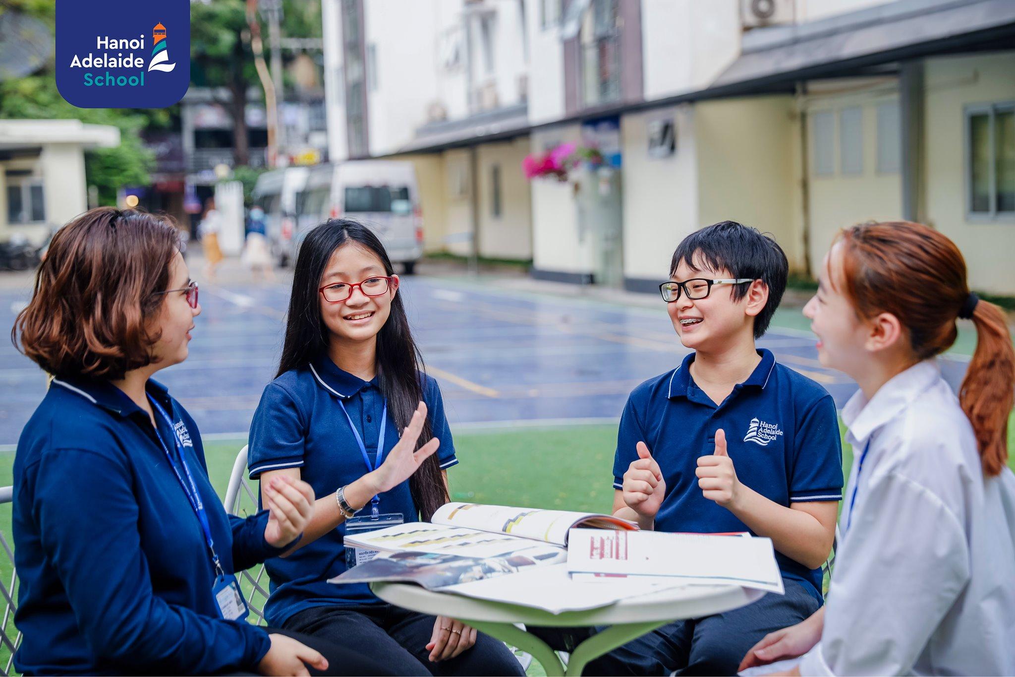 Học sinh Hanoi Adelaide School